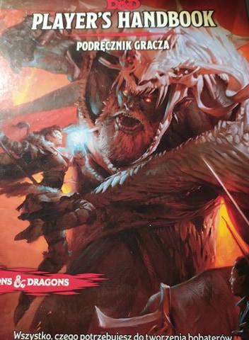 Gra fabularna Dungeon and Dragons 5 edycja