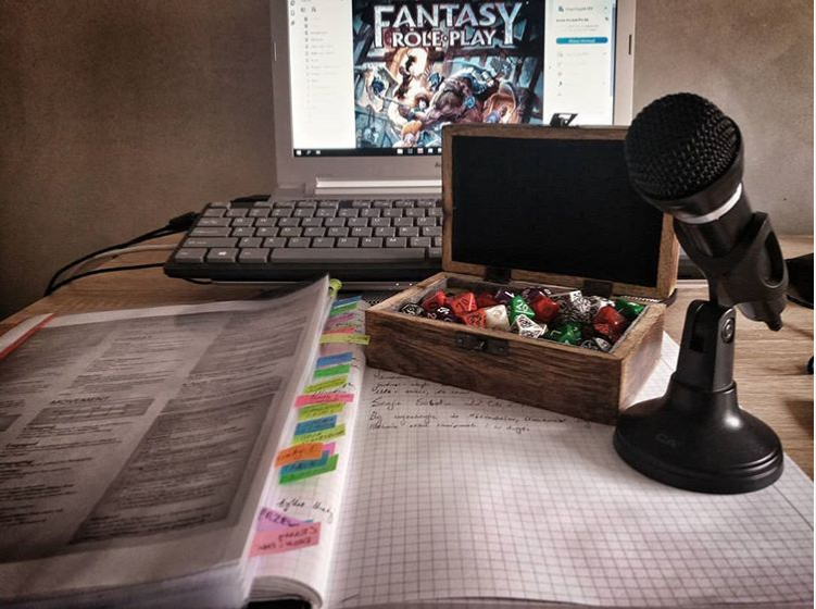 Jak grać sesję RPG online