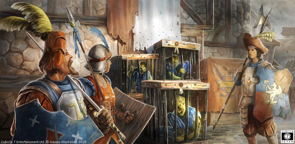 Warhammer 4 edycja klasy postaci